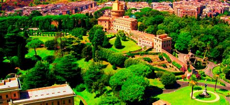 giardini vaticani su mini open