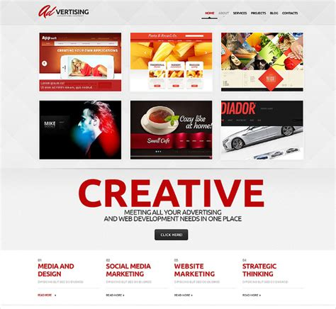 wordpress templates for advertising 16 advertising agency wordpress themes templates free