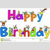 animated happy birthday clipart