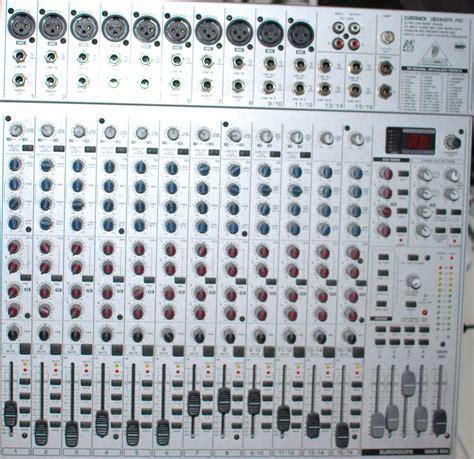 Mixer Behringer Eurorack Ub2442fx Pro behringer eurorack ub2442fx pro image 300291 audiofanzine