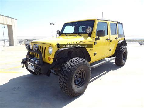 jeep tires 35 2008 jeep wrangler unlimited jk 4x4 lift lights 35