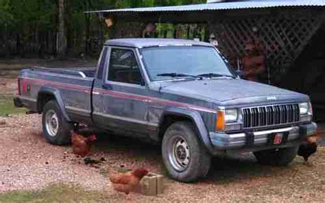 4 Door Jeep Comanche Purchase Used 1988 Jeep Comanche Pioneer Standard Cab