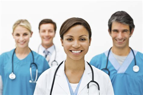 doctor and nurse young physician section