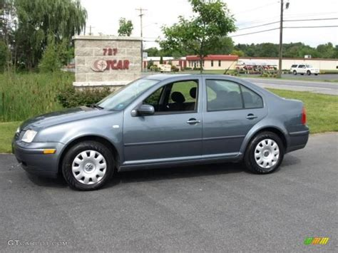 2003 Platinum Grey Metallic Volkswagen Jetta Gl Sedan