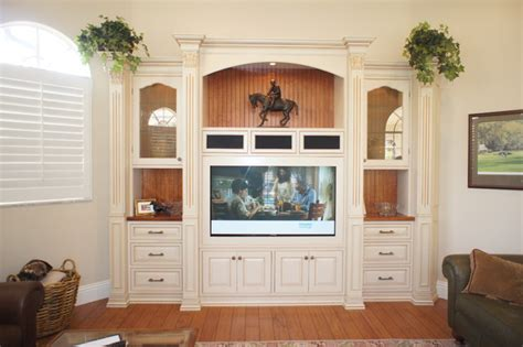 custom living room cabinets custom wall units naples fl traditional living room