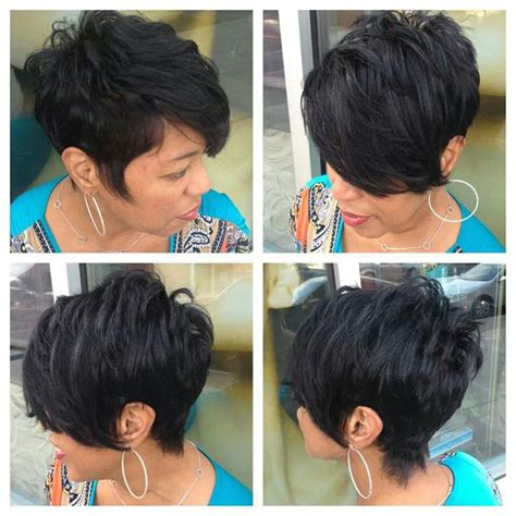 short in back long in front wigs short pixie wigs for black women short hairstyle 2013
