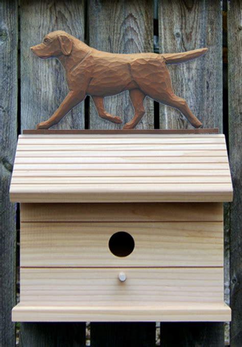 dog house for labrador retriever chocolate labrador retriever hand painted dog bird house