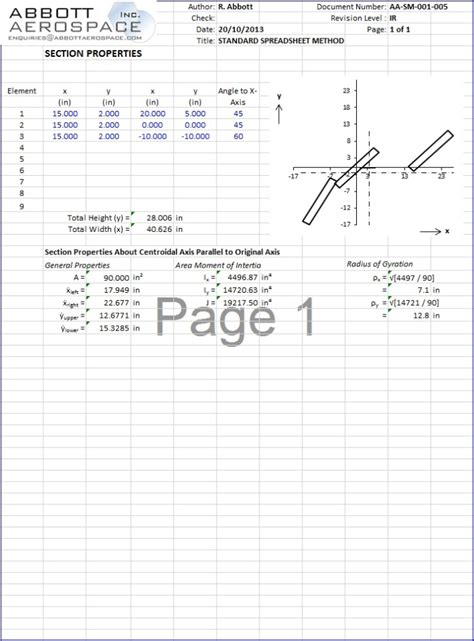 angle section properties calculator aa sm 001 005 section properties general with angles