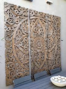 these balinese wood carvings would make a great
