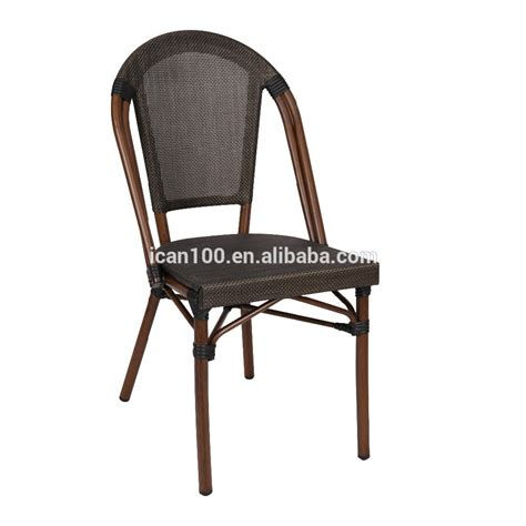 Rattan Bistro Chairs Outdoor Patio Bistro Rattan Chair With Brown Fabric Bc 08028 Buy Outdoor Patio Rattan