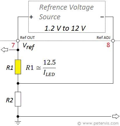 Resistor R1 lm3914 resistor r1 calculator