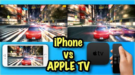 4k apple tv vs iphone 6s gaming shootout asphalt 8
