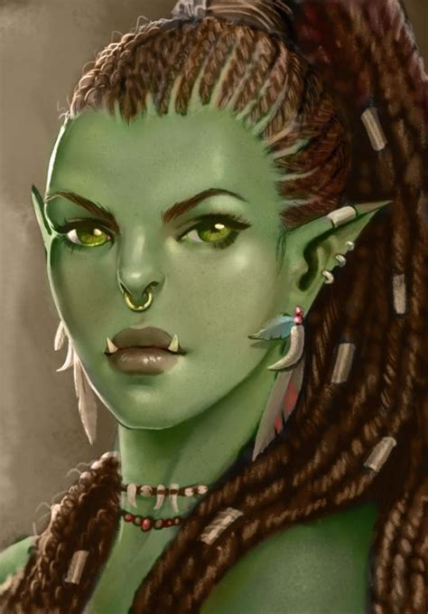 skyrim orc female face 25 best orc half orc orsimer images on pinterest