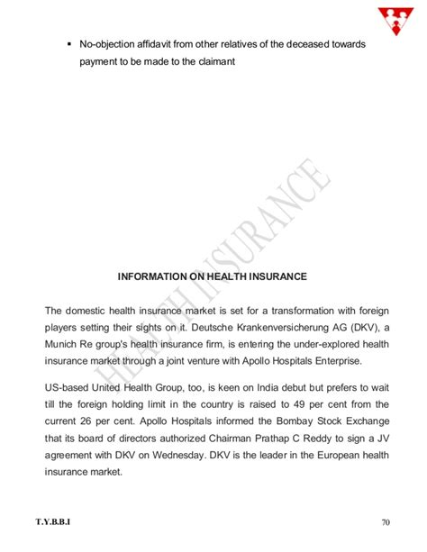 No Objection Letter For Insurance Claim Health Insurance Pages 1 81