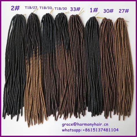 buy  arrive pack  strands  ombre brown color   crochet soft