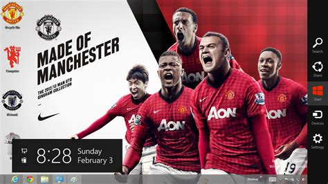 themes for windows 7 manchester united download tema manchester united 2013 untuk windows 7 ouo