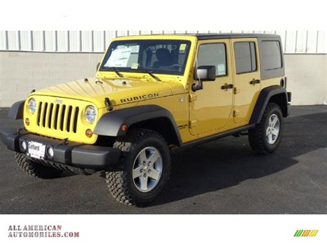 jeep rubicon yellow 2011 jeep wrangler unlimited rubicon 4x4 in detonator