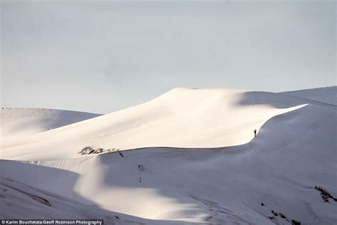 sahara desert snow snow in sahara desert for third time in 40 years daily