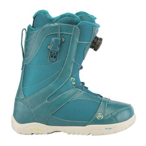 k2 sapera boa womens snowboard boots 2013 in teal