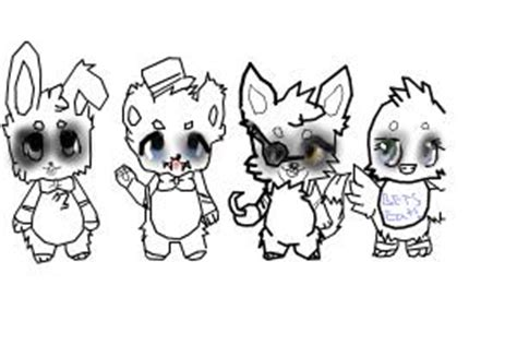 fnaf chibi coloring pages how to draw chibi fnaf