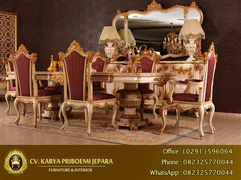 Meja Makan Mewah meja makan mewah alexandra klasik eropa