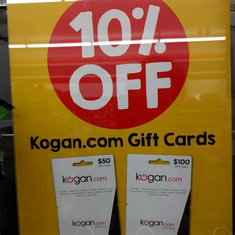 Gift Cards At 7 11 - 10 off kogan gift cards at 7 eleven instore ozbargain