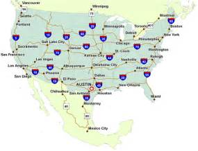 eastern us map with interstates us map with interstates and cities