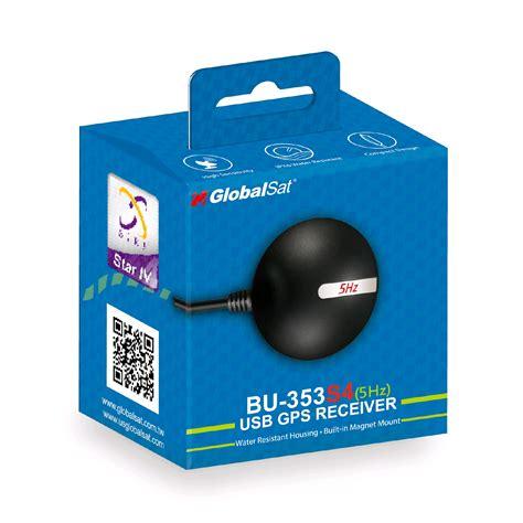 Usb Gps globalsat bu 353 s4 5hz usb gps receiver sirf iv