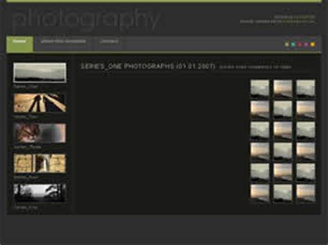 free photography html templates photography free website template free css templates