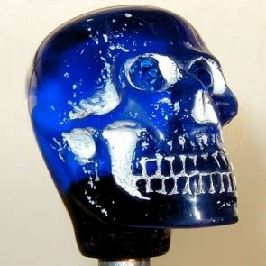 Skull Shift Knob With Light Up by Shift Knobs