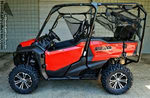 Honda Utv 2016 Pioneer 1000 5 Drive Review All New Honda Side By