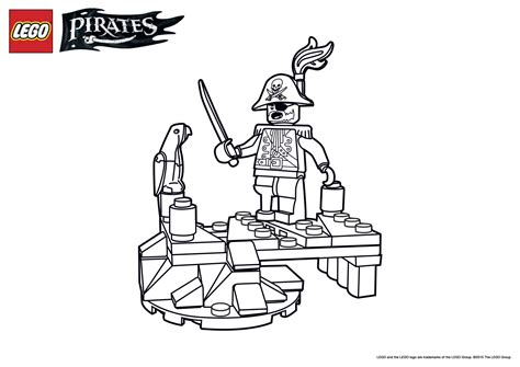 lego ninjago pirate coloring pages pirate and parrot coloring page wallpaper downloads