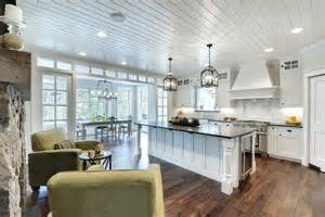 Traditional Open Kitchen Living Room Designs » Home Design 2017