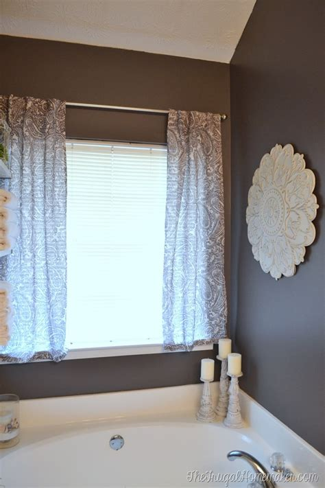 shower curtain in or out of tub curtains in the master bathroom