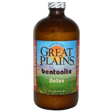 Detox Your Chrome Explorer by Yerba Prima Great Plains Bentonite Detox 32 Fl Oz 946