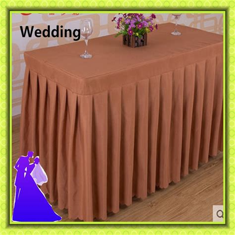 cheap polyester table skirts popular table skirts wholesale buy cheap table skirts