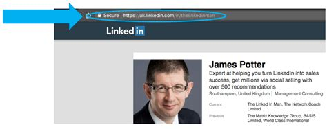 How To Search For On Linked In How To Find The Website Url Link For Your Linkedin Profile The Linked In