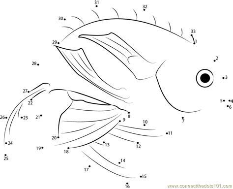 printable dot to dot fish marina fish dot to dot printable worksheet connect the dots
