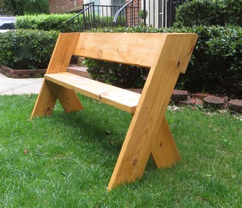 project lady diy tutorial  simple outdoor wood bench