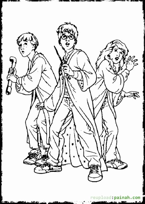 harry potter coloring book gramedia harry potter coloring pages coloring home