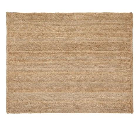 Jute Bathroom Rug Flat Braided Jute Rug Pottery Barn