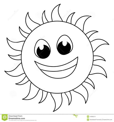 cute sun coloring page clipart of sun for colouring clipartxtras