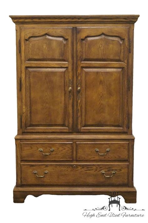 drexel armoire high end used furniture drexel heritage chatham oaks