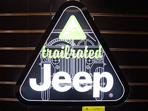 jeep trail sign jeep trail led sign business industrial signage