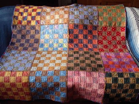 Quilts With Squares by When A Quilt Fluff Factor Matters