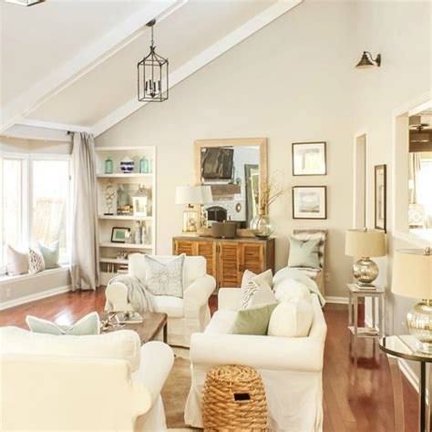 Light Airy Living Room by Light Bright Airy Living Room Tour Designing Vibes