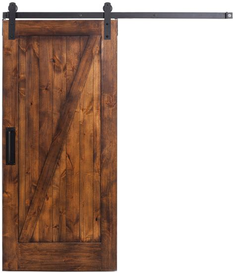 Z Barn Door Z Style Interior Sliding Barn Door Rustica Hardware