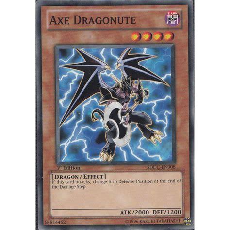 how to make yu gi oh cards yu gi oh card sddc en008 axe dragonute