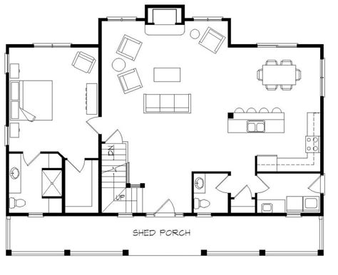 log cabin open floor plans single log cabin house plans