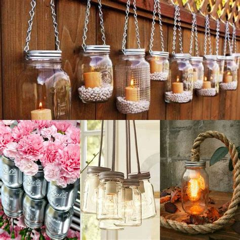 diy decorations candle jars awesome diy jar ideas you could use green dried